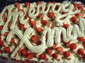48人分の特大クリスマスケーキ