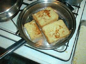 朝食にぴったり!フレンチトースト