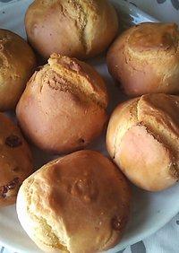 【発酵・イースト不要】薄力粉で簡単パン♪