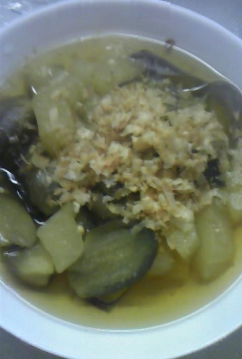 ☆彡茄子と青うりの冷たい煮物☆彡