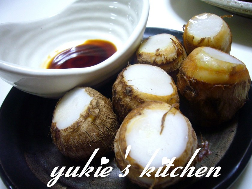うちの里芋の茹で方&食べ方〰
