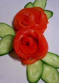 トマトのバラ【全部食べれます】