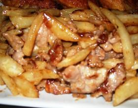 ❤簡単✿豚肉とじゃがいものオイマヨ炒め❤