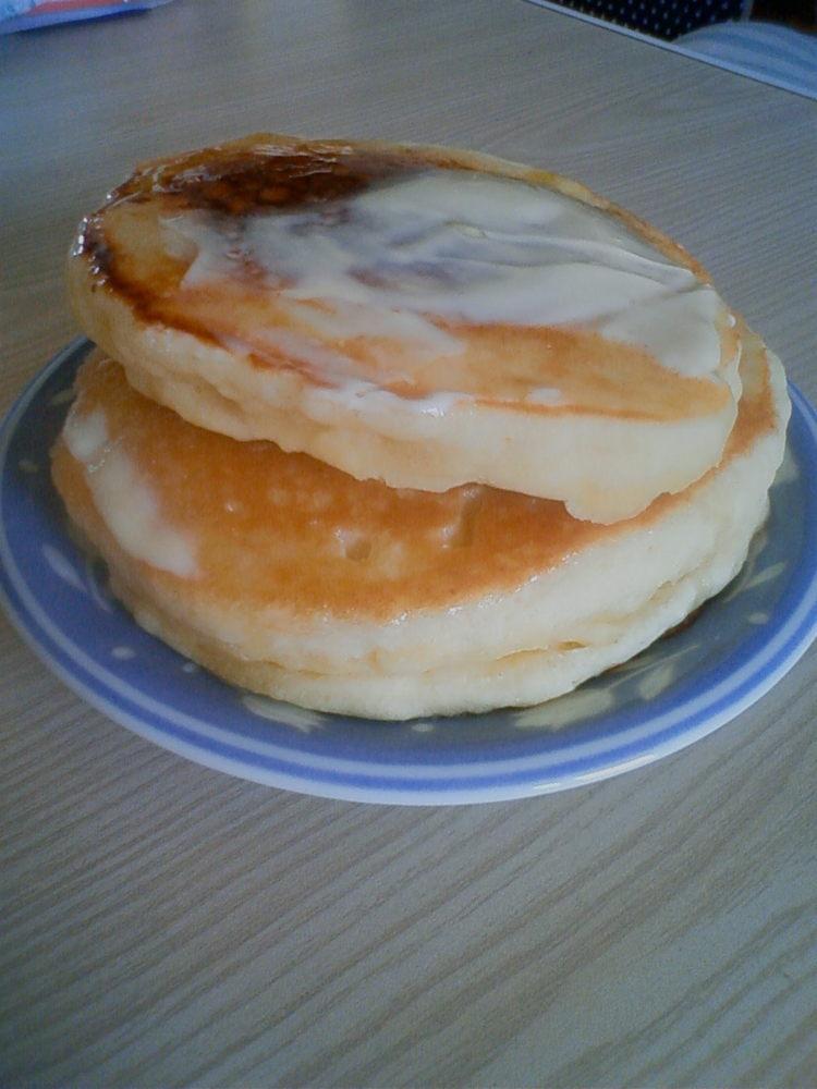 乳清で『ほぇ〜♪』なホットケーキ
