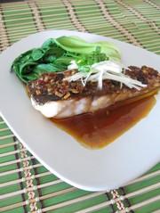 【香港発】白身魚の豆鼓醤蒸しの写真
