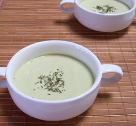 超~簡単❤アボカドの冷製スープ♪