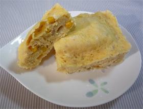 ケークサレ風☆レンジお惣菜パン