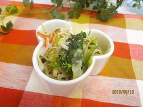 ほうれん草の中華風サラダ