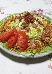 たくさん食べて♪キャベポテサラダ