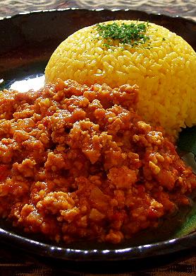 バターキーマカレー(鶏ひき肉・スパイス)