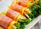 ✿生野菜のベーコンエッグ巻き✿
