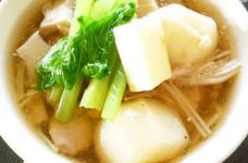 かぶときのこの具だくさんスープ