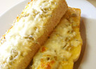 朝♪ちりめんじゃこチーズトースト