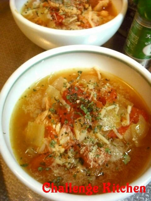 シエロで!イタリアンnaスープごはん☆