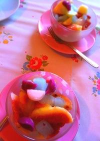 簡単♡可愛い♡いちじくの女子デザート ♡