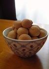 米粉クッキー きな粉味