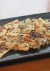 カリカリ旨~いっ♪桜海老の黒ごま煎餅