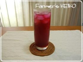 【農家のレシピ】赤しそジュース