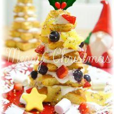 サンタも喜ぶツリーの簡単クリスマスケーキ