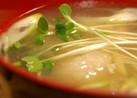蓮根団子汁