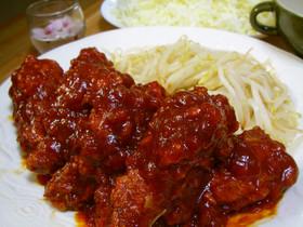 韓国式チキン ヤンニョムチキン