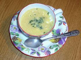 コーンのとろーり中華スープ
