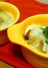 里芋の肉味噌チーズ焼き