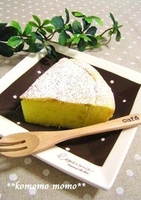 ホットケーキMIX♥スイートポテトケーキ