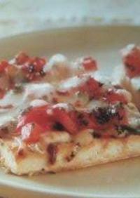 ランチにお手軽お豆腐ピザ