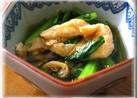 材料3つ♫小松菜と油揚げのおかず♫