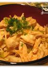 簡単ご飯☆キムチdeササミ丼!