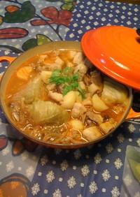豚肉とアサリのポルトガル風スープ