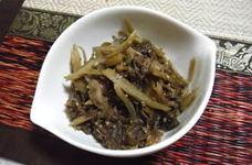 牛肉・ごぼう・舞茸のしぐれ煮