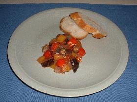 ラタトゥイユ(野菜のトマト煮)