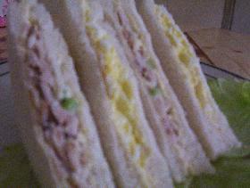 チキンサラダ サンドウィッチ