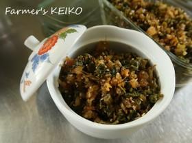 【農家のレシピ】セロリの葉の佃煮