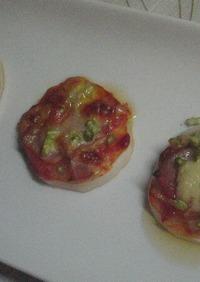 ♡カブのピザ~中華風ピリ辛ソース~♡