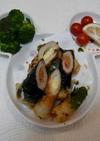美味♪ちくわのチーズ&鮭フレーク詰め揚げ