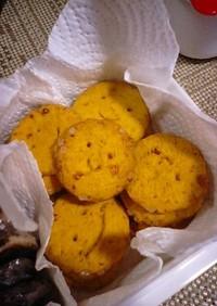 簡単*カボチャの煮物でクッキー