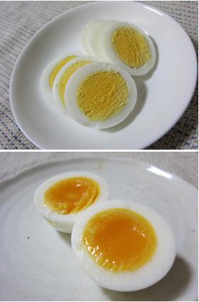 レンジで簡単♪ゆで卵 半熟卵もね♡