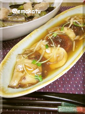 激旨なんちゃって中華♥椎茸のオイスター煮