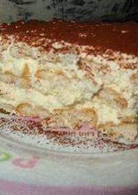 オーブンいらずでおいしいケーキ(?)