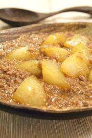 大根とひき肉で♪簡単とろ〜り煮物の写真