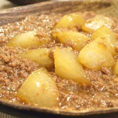 大根とひき肉で♪簡単とろ〜り煮物