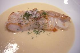 白身魚(タラ)のソテー 味噌ソース