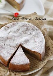 焦がしバターのしっとりマロンケーキ♡の写真