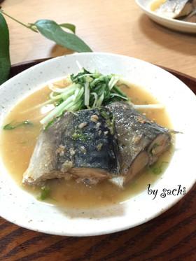 フライパンde鯖の味噌煮!