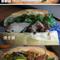 フランスパンでベトナム風味のサンドイッチ