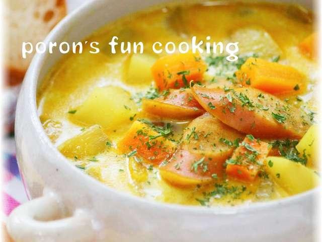 カレースープ レシピ