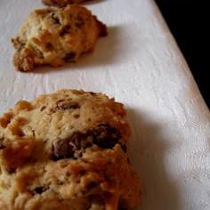 チョコとくるみのドロップクッキー
